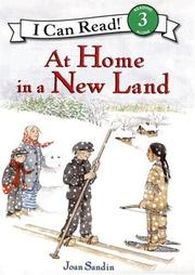 Book Cover for AT HOME IN A NEW LAND