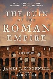 Cover art for THE RUIN OF THE ROMAN EMPIRE