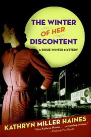 THE WINTER OF HER DISCONTENT by Kathryn Miller Haines