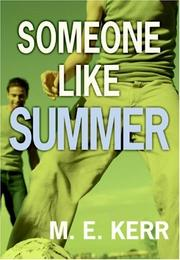 Cover art for SOMEONE LIKE SUMMER
