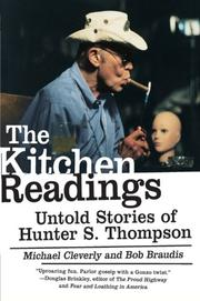 THE KITCHEN READINGS by Michael Cleverly