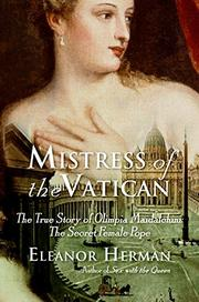 MISTRESS OF THE VATICAN by Eleanor Herman