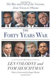 THE FORTY YEARS WAR by Len Colodny