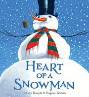 Cover art for HEART OF A SNOWMAN
