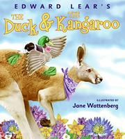 Cover art for THE DUCK AND THE KANGAROO