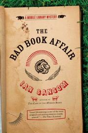 THE BAD BOOK AFFAIR by Ian Sansom
