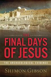 Book Cover for THE FINAL DAYS OF JESUS