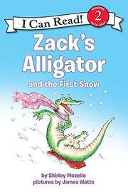 Cover art for ZACK'S ALLIGATOR AND THE FIRST SNOW