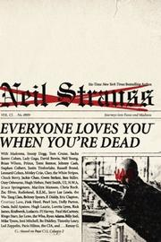 Cover art for EVERYONE LOVES YOU WHEN YOU'RE DEAD