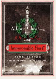 IMMOVEABLE FEAST by John Baxter