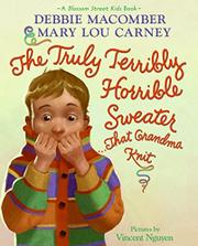 Book Cover for THE TRULY TERRIBLY HORRIBLE SWEATER...THAT GRANDMA KNIT