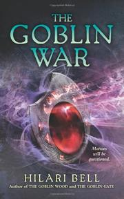 Cover art for THE GOBLIN WAR