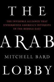 THE ARAB LOBBY by Mitchell Bard
