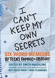 I CAN'T KEEP MY OWN SECRETS by Rachel Fershleiser