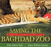 Cover art for SAVING THE BAGHDAD ZOO
