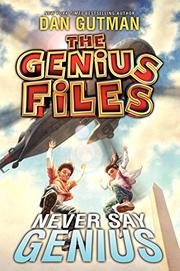Cover art for NEVER SAY GENIUS