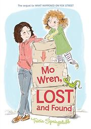 Cover art for MO WREN, LOST AND FOUND