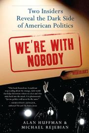 Book Cover for WE'RE WITH NOBODY