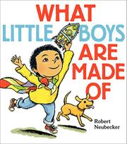Cover art for WHAT LITTLE BOYS ARE MADE OF