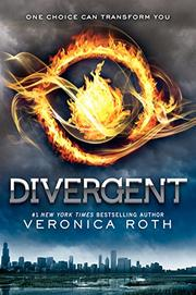 Cover art for DIVERGENT
