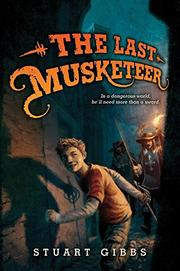 Cover art for THE LAST MUSKETEER
