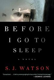 Book Cover for BEFORE I GO TO SLEEP
