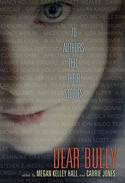 Book Cover for DEAR BULLY