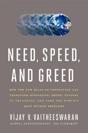 Book Cover for NEED, SPEED, AND GREED