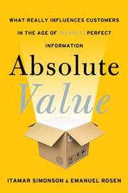 ABSOLUTE VALUE by Itamar Simonson