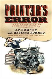 PRINTER'S ERROR by Rebecca Romney