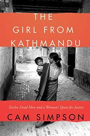 THE GIRL FROM KATHMANDU by Cam Simpson