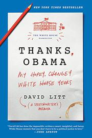THANKS, OBAMA by David  Litt