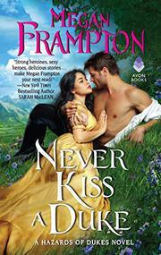 NEVER KISS A DUKE by Megan Frampton