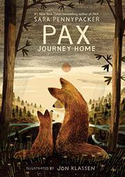 PAX, JOURNEY HOME by Sara Pennypacker