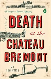 Cover art for DEATH AT THE CHATEAU BREMONT