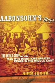 Cover art for AARONSOHN'S MAPS