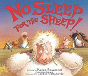 NO SLEEP FOR THE SHEEP by Karen Beaumont