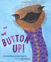 BUTTON UP! by Alice Schertle