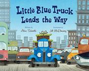 Book Cover for LITTLE BLUE TRUCK LEADS THE WAY