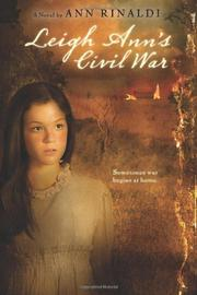 Cover art for LEIGH ANN'S CIVIL WAR