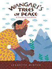 Cover art for WANGARI'S TREES OF PEACE