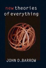 Cover art for NEW THEORIES OF EVERYTHING