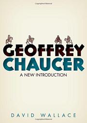 GEOFFREY CHAUCER by David  Wallace