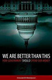 WE ARE BETTER THAN THIS by Edward D. Kleinbard