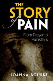 THE STORY OF PAIN by Joanna Bourke