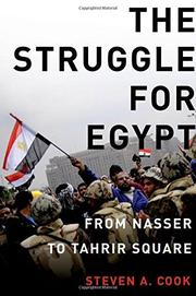 Cover art for THE STRUGGLE FOR EGYPT
