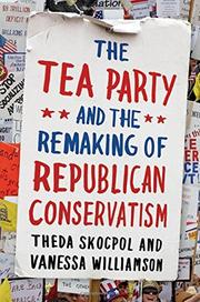 Cover art for THE TEA PARTY AND THE REMAKING OF REPUBLICAN CONSERVATISM