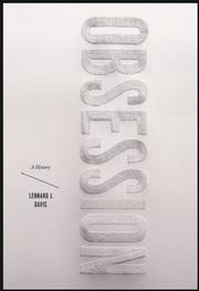 OBSESSION by Lennard J.  Davis