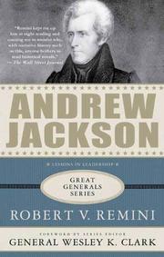 Book Cover for ANDREW JACKSON