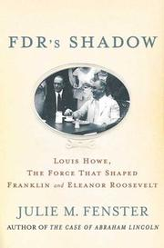 Cover art for FDR'S SHADOW
